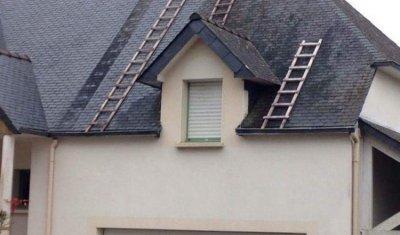 Entreprise nettoyage de toiture à Lorient