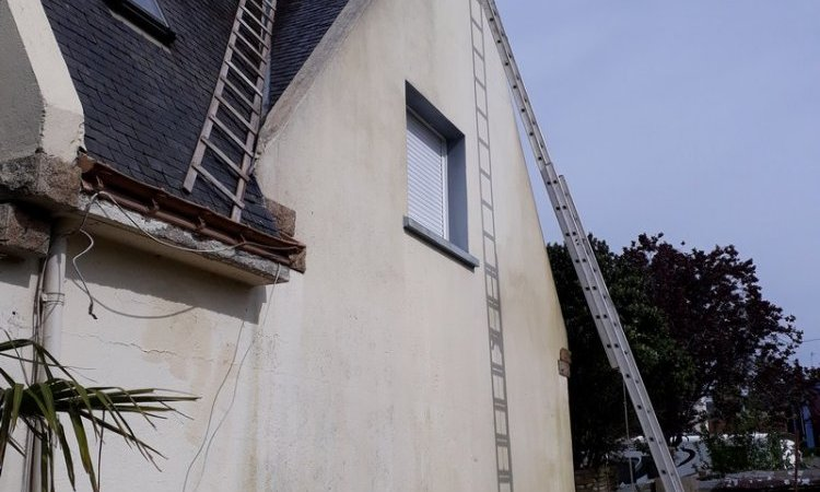 Ravalement façade Hennebont Avant
